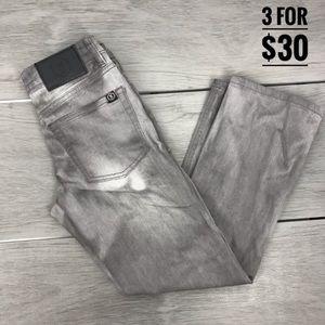 West 49 boy jeans gray slim fit size 9-10